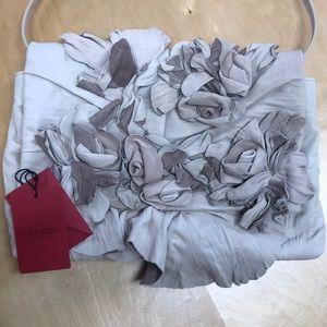 Valentino Floral Appliqué Handbag
